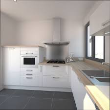 cuisines blanches et bois cuisines blanches cuisine blanche avec parquet with cuisines