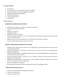 Hr Manager Resumes Hr Manager Resume 17 Images Resume For International Human
