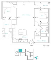 Unit Floor Plans by Units C Floor Plans U2013 Ashton Detroit