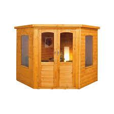 Garden Shed Summer House - summer houses u0026 log cabins at homebase co uk