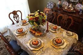 a traditional thanksgiving table bleu interiors