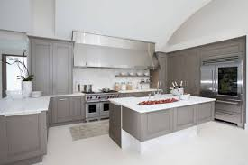 kitchen grey and white painted kitchen cabinets wall color for