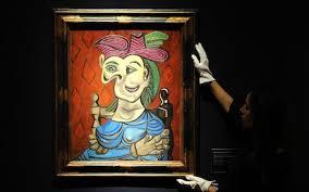 Dora Maar In An Armchair Pablo Picasso Women Are Either Goddesses Or Doormats