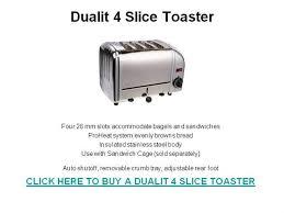 Dualit Sandwich Toaster Dualit 4 Slice Toaster Authorstream