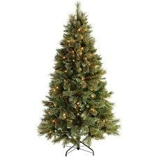 6 ft shimmering chagne pre lit multi function tree