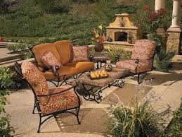 Wrought Iron Patio Tables Western Wrought Iron Patio Furniture