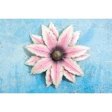 Metal Flower Wall Decor - pink metal wall art you u0027ll love wayfair