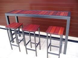 wooden high bar table high bar table outdoor cbat info