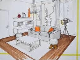 comment dessiner une chambre en perspective dessin en perspective par mh deco