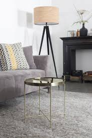 contemporary side table marble tempered glass iron cupid