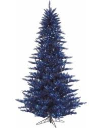 get the deal vickerman navy blue fir 3 foot artificial