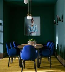 blue furniture 15 color blocked rooms to see
