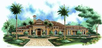 Mediterranean Style Floor Plans Mediterranean Designs Florida House Plans Home Design Wdgf1