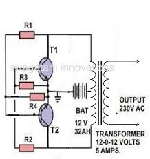 Simple Schematic Electric Cycle Counter A Simple Inverter Circuit