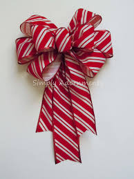 christmas ribbons and bows christmas velvet candy bow indoor outdoor wreath