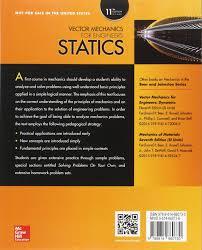 vector mechanics for engineers statics amazon co uk ferdinand p