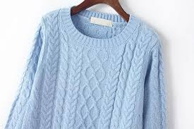 light blue cable knit sweater light blue cable knit sweater from trinity things i want as