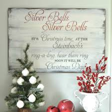 christmas signs silver bells christmas sign aimee weaver designs llc
