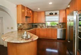 wood floors in kitchen with wood cabinets wood flooring