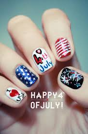 4th of july nail art ideas stylecaster