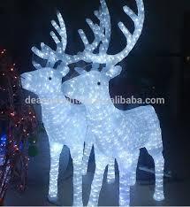 decoration led light reindeer decoration led
