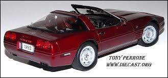 1993 corvette 40th anniversary danbury mint 1 24 1993 corvette 40th anniversary coupe nbr ltd ed