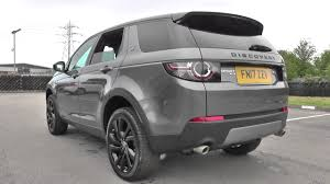 land rover discovery black land rover discovery sport 2017my 180hp 7 seat hse black auto