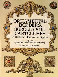 syracuse ornamental company ornamental borders scrolls and