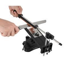 ruixin 2nd gen kitchen sharpening steel knife sharpener fix angle
