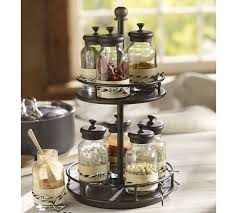 Spice Rack Countertop Rotary Spice Rack Pottery Barn