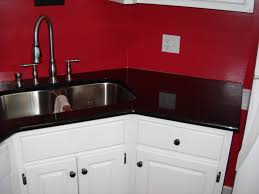 Black Kitchen Countertops by Blue And Black Kitchen Countertops Granite Black Kitchen