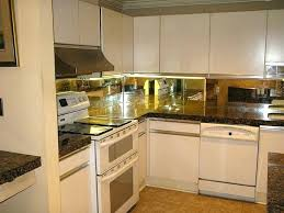 mirrored kitchen backsplash kitchen backsplash mirror pizzle me