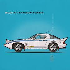 mazda group mazda rx 7 evo group b works drivetribe