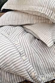 Gray White Duvet Cover Best 25 Striped Bedding Ideas On Pinterest Bed Sheets