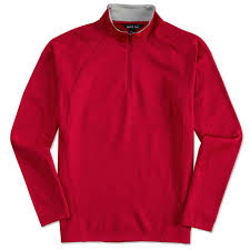 custom sport tek quarter zip performance sweatshirt design