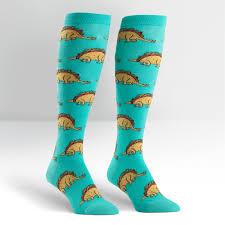 tacosaurus s knee high sock it to me