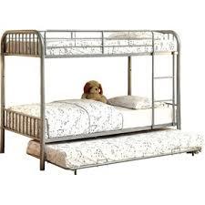 Metal Bunk Bed Frame Metal Bunk U0026 Loft Beds You U0027ll Love Wayfair