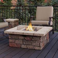 white fire rings images Top types of propane patio fire pits with table buying guide jpg
