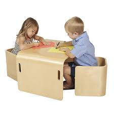 childrens wooden table and chairs wood tables and wooden chair at daycare furniture direct wooden