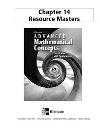 chapter 14 resource masters msg kmg