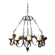 beautiful real candle chandelier homesfeed