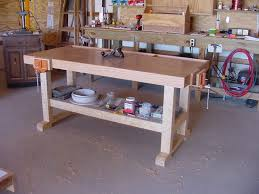 Fine Woodworking Bench Bench Impressive Building A Simple Work Wonderful Woodworking