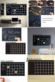 678 best home office decor images on pinterest home office decor visit to buy home office decoration chalk board blackboard monthly calendar wall sticker