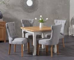 grey kitchen table and chairs painted dining sets oak and grey the great furniture trading company