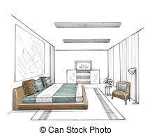 chambre en 3d int rieur moderne dessin chambre coucher vecteur dessiner une en 3d