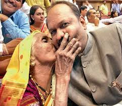 Maharashtra Cabinet Ministers Will Thrash Him On Non Performance U0027 Says Mother Of New Cabinet