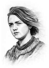 arya stark sansa stark wallpapers game of thrones images arya stark hd wallpaper and background