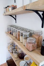 Open Shelving 8 Tips For Creating Successful Open Shelving And A Pantry Jen