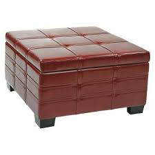 storage ottoman with tray target