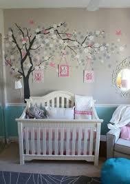 wunderschöne wandgestaltung im babyzimmer kinderzimmer - Baby Wandgestaltung